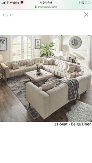 11 seat sectional sofa for Sale in Kent, WA