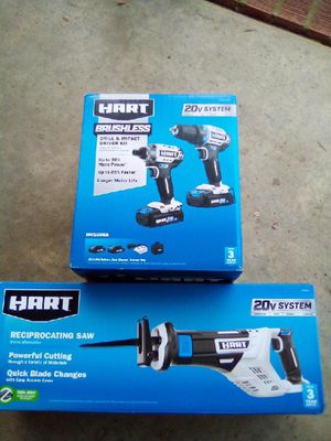 BRAND NEW BRUSHLESS IMPACT DRIVER AND DRILL AND SAWZAW for Sale in Raleigh, NC