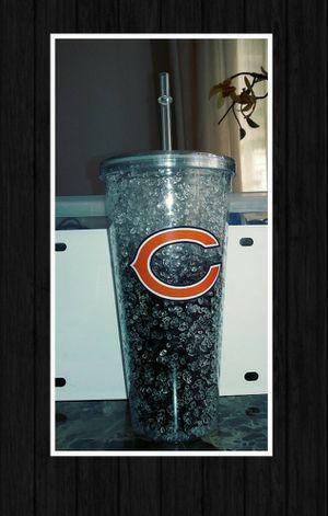 NFL CHICAGO BEARS CRYSTAL FREEZER TUMBLER for Sale in Las Vegas, NV