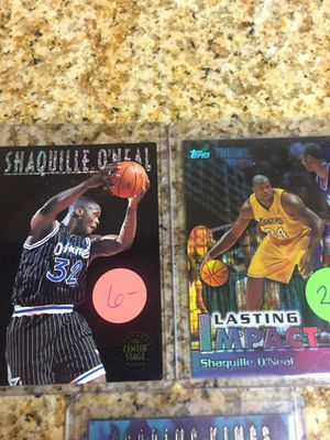 Baseball , Basketball cards Shaq Refractor & Inserts $10 for Sale in West Carson, CA
