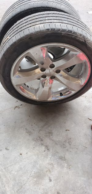 "20"" dodge charger wheel, needs tires for Sale in Martinsville, IN"