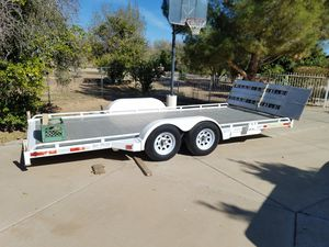 2003 Trvel Lite Air ride Hauler car trailer for Sale in Mesa, AZ