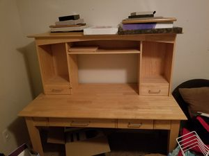 Large Desk with Hutch for Sale in APEX, NC