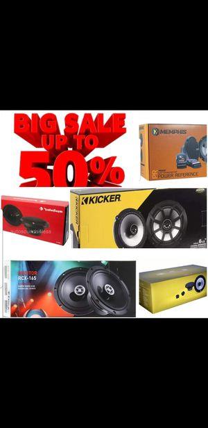 "4xNew Rockford Fosgate PUNCH P1650 6.5"" 110 Watt 2 Way Car Coaxial Speakers Audio for Sale in San Diego, CA"