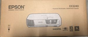 Epson projector ex3240 for Sale in Lake Butler, FL