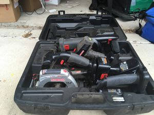 Set of craftsman tools power don't know if they work or not for Sale in Austin, TX
