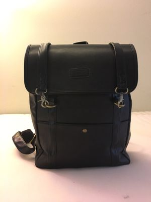 Black Faux Leather Backpack for Sale in Diamond Bar, CA