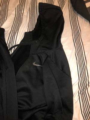 Nike dri fit fleece hoodie and just do it track jacket for Sale in Austin, TX