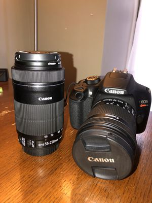 Canon Rebel T6 for Sale in Yorkville, IL