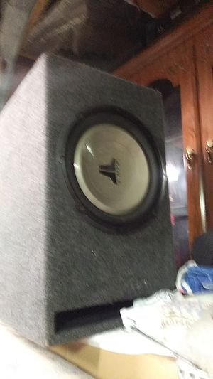 JL audio 12 inch bass speaker ported to specs for Sale in Winter Haven, FL