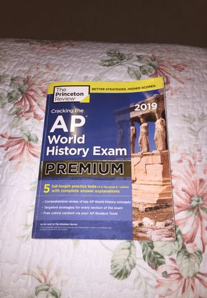 AP World History Exam Study Book for Sale in Fairfax, VA