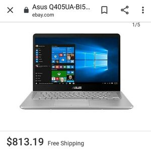 "2019 Asus 14"" 2 in 1 Full HD Touchscreen Laptop for Sale in Fort Lauderdale, FL"