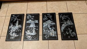 Wooden Chinese Wall Art Panels for Sale in Orlando, FL