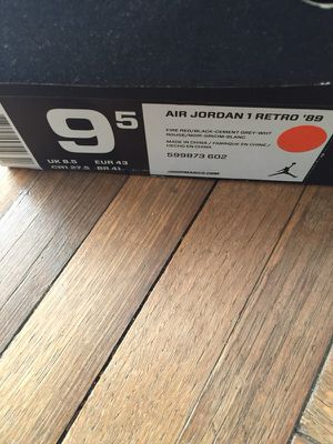 "Air Jordan 1 Retro ""89"" authentic shoe for Sale in Silver Spring, MD"