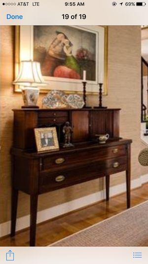 Antique Mahogany Tambour Desk for Sale in Richmond, VA