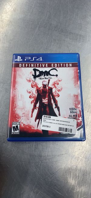 DMC DEVIL MAY CRY: DEFINITIVE EDITION for Sale in Hyattsville, MD