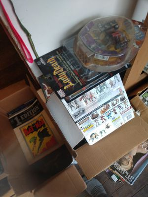 Comic books and action figures collection for Sale in Seattle, WA