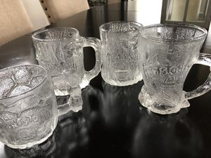 McDonald's Flintstone Collectible Glass Mugs for Sale in Dahlonega, GA