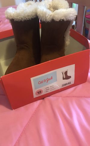 Brown Boots - Little Girls - Like New for Sale in Aubrey, TX