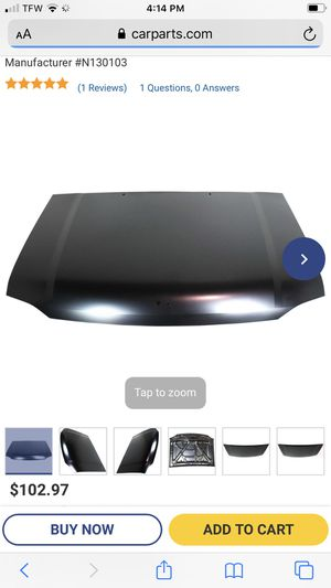 Free Nissan Frontier hood for Sale in McDonough, GA