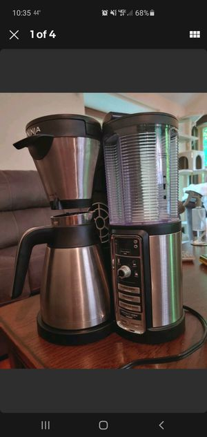 Ninja Coffee Maker for Hot/Iced Coffee with 4 Brew Sizes, Programmable Auto-iQ for Sale in Middlebury, CT
