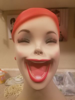 Laughing red head mannequin bust for Sale in Sun City, AZ