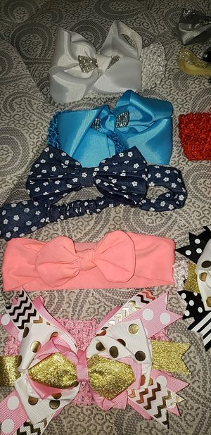 Babygirl hair bows for Sale in Sioux City, IA