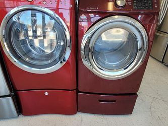 Electrolux Front Load Washer And Electric Dryer Mix And Match Set With Pedestal Used In Good Condition With 90day's Warranty for Sale in Washington,  DC