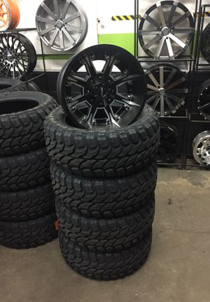 20x12 inch rims and tires for Sale in Gresham, OR