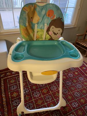 Fisher Price highchair for babies, toddlers. for Sale in Fairfax, VA