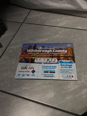 Coupon book all around hillsborough county for Sale in Lutz, FL
