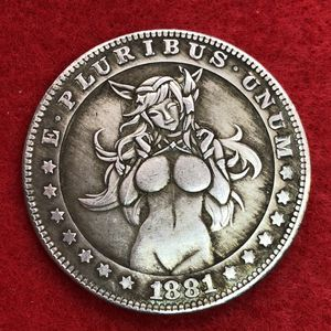 Anime Girl Tibetan Silver Coin. Last One Available. First $20 Offer Automatically Accepted. Shipped Same Day for Sale in Oregon City, OR
