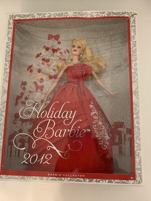 2012 holiday Barbie for Sale in Mandeville, LA