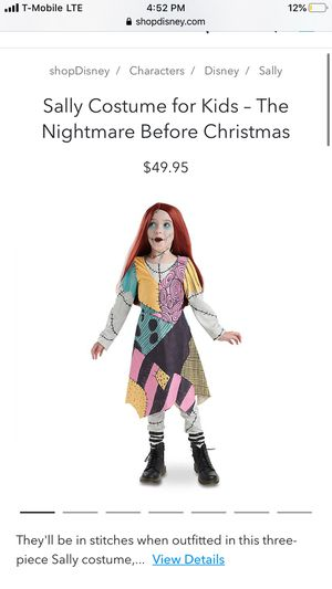SALLY (Nightmare before Christmas) for Sale in Los Angeles, CA