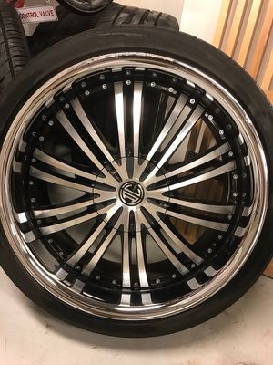 "20"" rims and brand new tires for Sale in Boston, MA"
