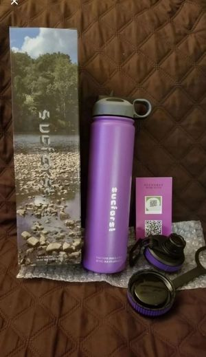 Sports Water Bottle, 2 Extra Accessories for Sale for sale  Barstow, CA
