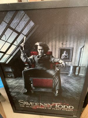 Sweeney Todd Print.. for Sale in Newport Beach, CA