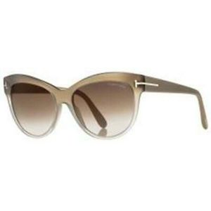 Authentic Tom Ford Lily Sunglasses FT0430 59G 56 Brown Gradient Lens for Sale in Garland, TX