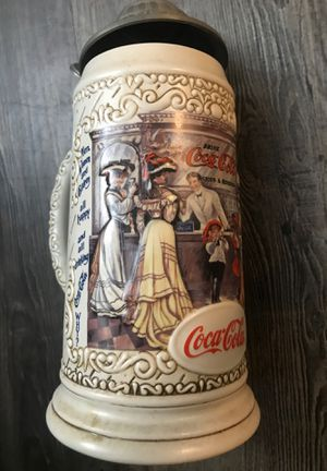 """1994 Coca-Cola Collectible Stein """"The Soda Fountain"""" for Sale in Dallas, TX"""