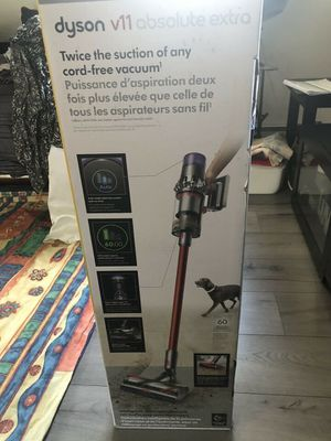Dyson V11 Absolute Extra smart vacuum for Sale in Little Falls, MN