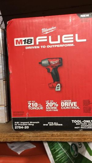 Milwaukee m18 impact wrench for Sale in Lompoc, CA