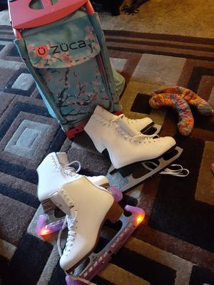 Zuca sport bag and ice skates for Sale in National City, CA