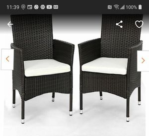 2 wicker chairs for Sale in Montebello, CA