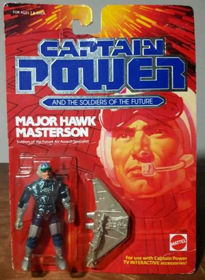 Captain Power Major Hawk Masterson Vintage Action Figure 80s Toy for Sale in Marietta, GA