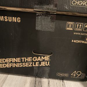 """Samsung CHG90 49"""" curved Monitor for Sale in Alexandria, VA"""