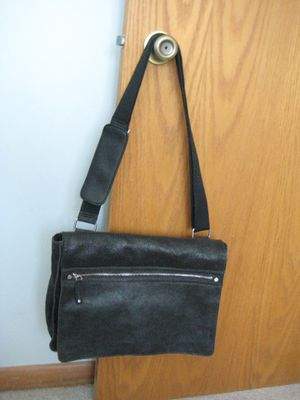 Black Leather Laptop bag for Sale in Rapid City, SD
