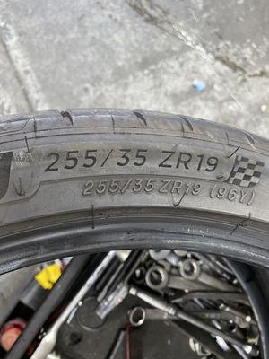 255/35/19 Michelin Pilot SPORT 4s $60.00/ Each for Sale in Mission Viejo, CA