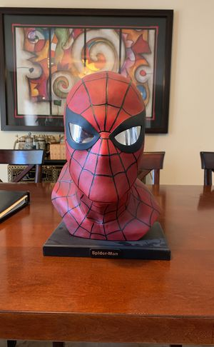 Rare SpiderMan Collectable Bust Statue for Sale in Cooper City, FL
