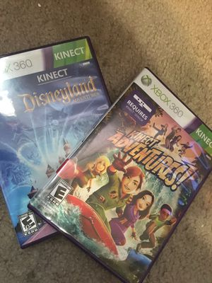 Xbox 360 Kinect Games for Sale in Cedar Hill, TX