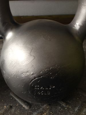 Kettlebell Weights 45lb Pair for Sale in Melbourne Village, FL